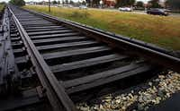 After years of discussion of providing commuter rail service on the old Cotton Belt Line between Plano and Fort Worth, DART officials are considering building bus-only roads along the route. Officials say that option is much cheaper than rail service but wouldn't preclude it if funding ever became available.File 2002 - Staff Photo