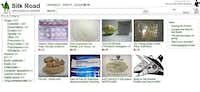 This frame grab from the Silk Road website shows thumbnails for products allegedly available through the site.silkroaddrugs.org - The Associated Press