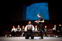 Pictures are of a recent production of Othello as part of our Complete Works project.