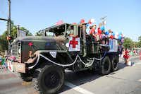 Medical and Surgical Clinic of Irving won best float commercial in Irving's parade.Photo by STEVE RAINWATER