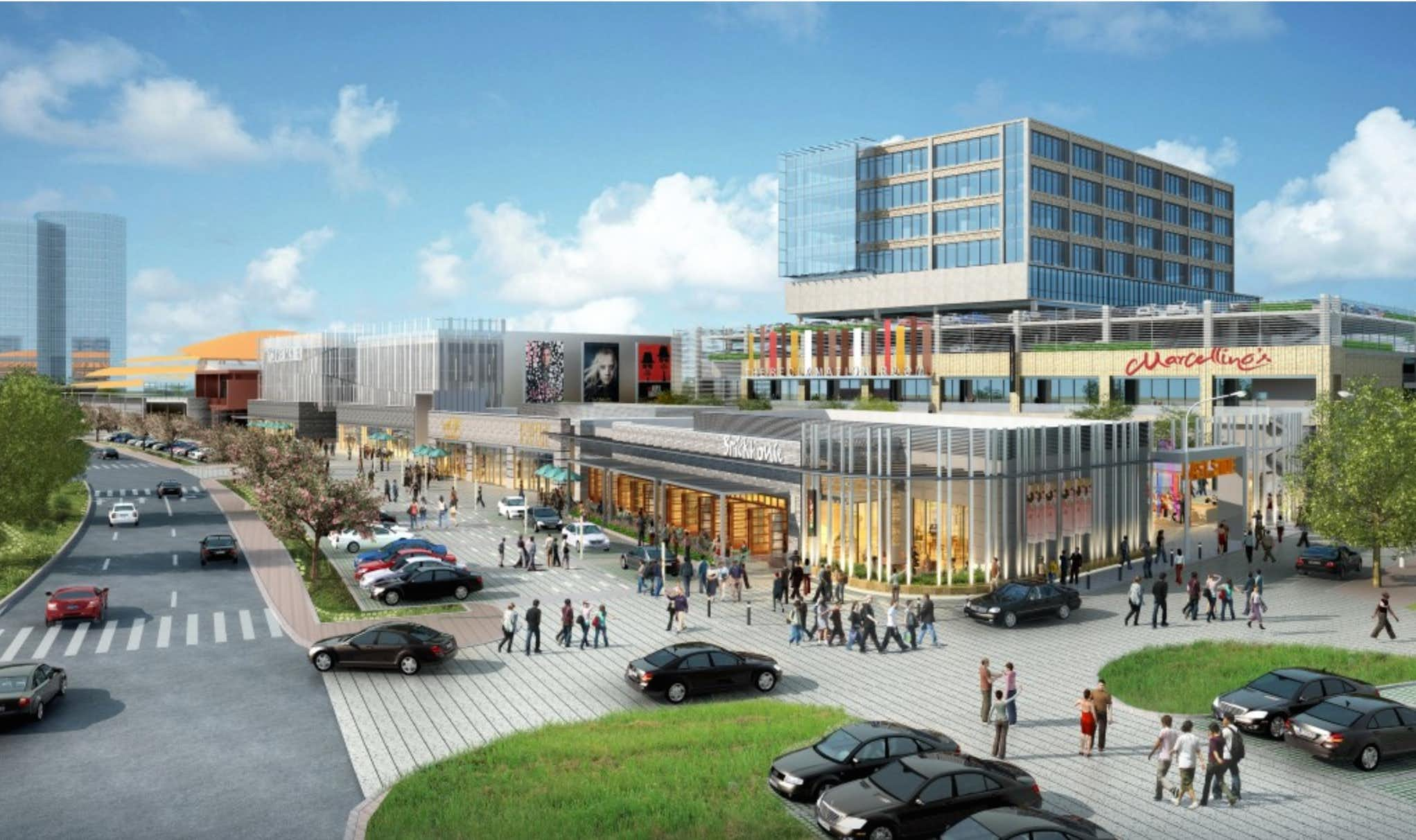 The Music Factory will include office, retail, restaurants and entertainment venues.ARK Group