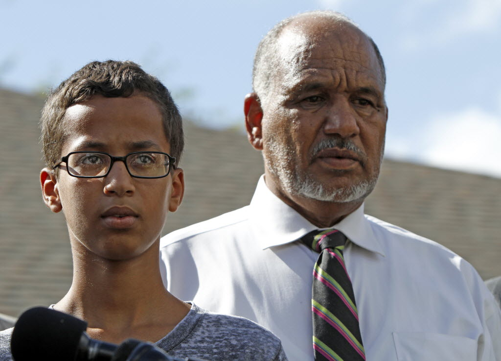 Father of 'clock boy' Ahmed Mohamed sues Glenn Beck, FOX, TheBlaze