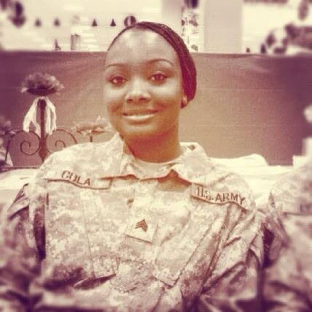 Demekia Cola, an Army sergeant based in Fort Bliss, died in 2011 after taking a dietary supplement made by USP Labs.(N/A/Facebook)