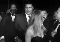 In 1991, FightNight was held at the Fairmont Hotel, where guests included Muhammad Ali.