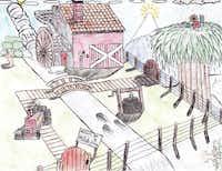 Art winner in the Grade 6-8 category was Abel Hernandez, eighth grade, Hood Middle School in Dallas.
