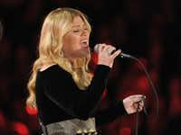 Kelly Clarkson performs on stage at the 55th annual Grammy Awards on Sunday, Feb. 10, 2013, in Los Angeles.John Shearer - John Shearer/Invision/AP