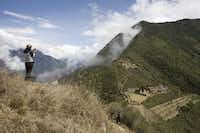 The Incan ruins at Choquequirao in Peru don't get the publicity of Machu Pichu, but commercialization is coming.