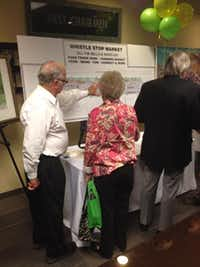 Irving Chamber held a showcase for planned projects Nov. 19.Staff photo by DEBORAH FLECK