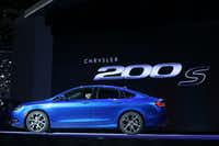 The Chrysler 200s is introduced at the 2014 North American International Auto Show in Detroit, Michigan, January 13, 2014. AFP PHOTO/Geoff RobinsGEOFF ROBINS/AFP/Getty ImagesGEOFF ROBINS - AFP/Getty Images