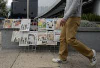 View of the covers of Mexican newspapers in Mexico City on Sunday after Mexican drug trafficker Joaquin Guzman Loera was arrested by Mexican marines. Guzman is the Sinaloa cartel leader and the most wanted by US and Mexican anti-drug agencies.ALFREDO ESTRELLA - AFP/Getty Images