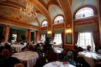 The French Room, the Adolphus hotel's award-winning restaurant, has been a major draw throughout the years.