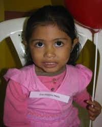 Eva is the 5-year-old girl from Honduras who will be getting an operation thanks to the efforts of Nguyen's campaign. Eva has a ventricular septal defect, essentially a hole in her heart between the right and left ventricle.