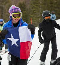 Young Texans take over Angel Fire Resort in New Mexico during the annual Big Ol' Texas Weekend.