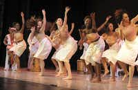 The troupe Bandan Koro will perform Oct. 6, 2012, at the DanceAfrica Marketplace in downtown Dallas.Niesha Lanea Graves