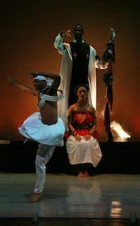 The Dallas Black Dance Theatre performed Forget Not the Seed at the DanceAfrica Dallas 2011 presentation at the Majestic Theatre in Dallas on October 7, 2011.Nan Coulter