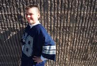 """Crook's mom, Shane Stichter, said he was embarrassed that a photographer from The News came to take photos of him at Timber Creek Elementary School. """"I said, 'Don't be embarrassed, be proud about that,'"""" Stichter said."""