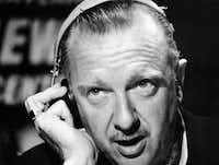 """This undated file photo provided by CBS, shows CBS television newscaster Walter Cronkite. In """"Cronkite,"""" a biography by Douglas Brinkley, the CBS Newsman emerges as the intrepid newshound upon whom was thrust the unsought mantle of """"most trusted man in America"""" and who never betrayed that public trust."""