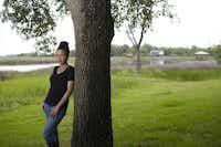 Jesmyn Ward, where she grew up and where her memoir is set, in DeLisle, Miss., May 15, 2013.