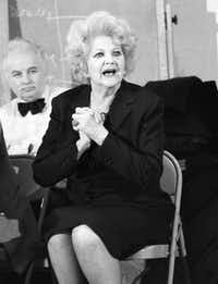 """Stella Adler during a session with actors at the Stella Adler Studio of Acting in Chelsea in New York in 1984. When he has heard Stanley Kowalski bellow """"Stella!"""" with caveman ferocity, Tom Oppenheim has wondered whether Tennessee Williams chose the name as an insider's bouquet to Stella Adler, Oppenheim's grandmother and the renowned acting teacher who led Marlon Brando to the Method. Oppenheim is understandably saturated in his family's legacy. He is the fourth generation of Adlers in the theater, a dynastic stretch that gives them bragging rights alongside the Barrymores."""