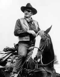 This 1969 photo released by Paramount Pictures shows John Wayne in a scene from the movie True Grit. The movie will be among 11 Wayne films shown at the upcoming John Wayne Film Festival April 24-27.DMN file photo