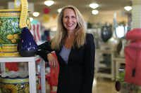 In this April 22, 2013 file photo, TJX CEO Carol Meyrowitz poses for a photo in Framingham, Mass. Meyrowitz was the highest paid female CEO of 2013. (AP Photo/The Boston Globe, Suzanne Kreiter)  BOSTON HERALD OUT, QUINCY OUT; NO SALESSuzanne Kreiter - AP