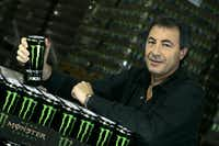 In this Nov. 10, 2005 photo, Rodney Sacks, CEO of Monster Beverage, poses for a photo in Corona, Calif. Sacks earned $6.22 million in 2013, a near seven-fold increase. (AP Photo/Los Angeles Times, Ifran Khan)  NO FORNS; NO SALES; MAGS OUT; ORANGE COUNTY REGISTER OUT; LOS ANGELES DAILY NEWS OUT; VENTURA COUNTY STAR OUT; INLAND VALLEY DAILY BULLETIN OUT; MANDATORY CREDIT, TV OUTIrfan Khan - AP