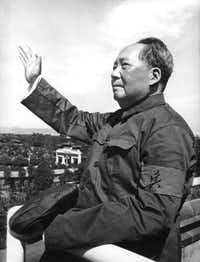 "A new biography of  Mao Zedong notes that he talked carelessly of millions of deaths. ""It is better to let half the people die so that the other half can eat their fill,"" Mao said during the famine provoked by his Great Leap Forward."
