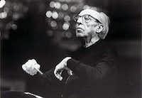 Aaron Copland - American composer / undated handout photo