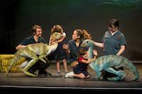 """Dinosaur Zoo Live"" will be at the Majestic Theater in Dallas Saturday and Sunday."