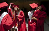 Graduates in the top 10 percent of Cedar Hill High's Class of 2011 celebrated before graduation June 3 at the Dallas Convention Center.