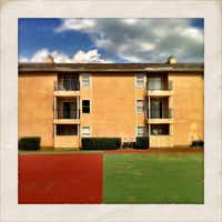 Years of I-30 construction took their toll on nearby apartments like Manchester Park.