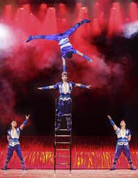 Need some help finding some balance? Check out Cirque Shanghai Bai Xi, which will perform three shows daily at the state fair.