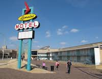 The old Lorraine Motel, where King was killed in April 1968 while standing on a balcony, was converted into the museum in downtown Memphis.Adrian Sainz  -  AP