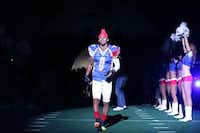 Former Cedar Hill High School quarterback Will Cole takes the field for the Texas Revolution before a game May 17 in Allen. Cole is giving professional football another shot at the age of 25.Photo submitted by FRED MAHUSAY/FREDSHOTS PHOTOGRAPHY