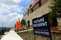 Dallas-based developer Billingsley Co.'s Cypress Waters mixed-use development is now leasing apartments on the property that surrounds Northlake. The developments first residents began moving in at the end of May.