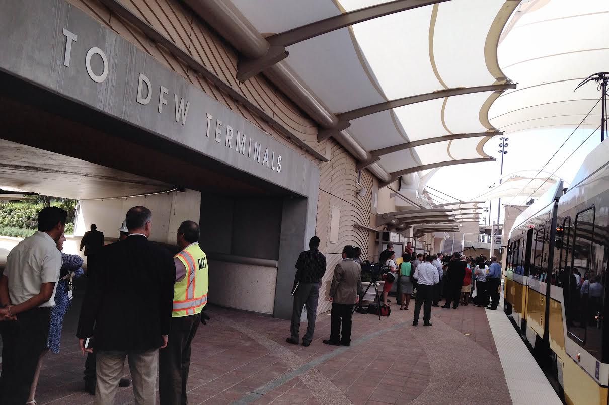 Image result for dart station dallas/ fort worth international airport
