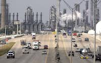 Shell Oil Co.'s Deer Park refinery and petrochemical complex, just east of Houston, employs nearly 1,700 people. A number of refineries, including some in Texas, are benefiting from low prices for domestic natural gas and crude.