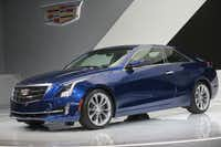 The Cadillac 2015 ATS compact luxury coupe was unveiled Tuesday in Detroit.