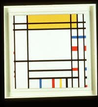 PLACE DE LA CONCORDE (1938-1943) by Piet Mondrian