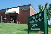 The current senior center, which formerly functioned as Flower Mound's town hall, is roughly four times smaller than the proposed center.
