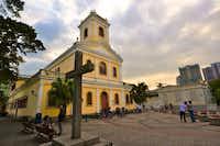 Our Lady of Carmel Church, in Macau, China.