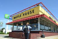 """In May, DOORS helped to connect Deanna Hall with a waitress job at a Waffle House on West Northwest Highway, where she's known as """"Queen"""" by the employees.Staff photo by NANETTE LIGHT -  neighborsgo"""