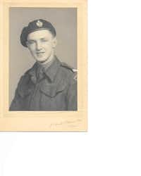 Dennis King served as a squadron tank commander in the 7th Armoured Division of the British Army during World War II.Photo submitted by CAROLINE KING