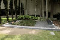 The burial place of Escobar, his family and a trusted bodyguard.