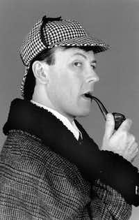 Dallas Children's Theater - SHERLOCK HOLMES AND THE BAKER STREET IRREGULARS - July 15 - July 29, 1990 - shown here is Artie Olaisen