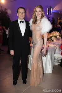 Maxwell and Jacqueline Anderson in January at the Dallas Museum of Art's 20th Anniversary Silver Supper gala.