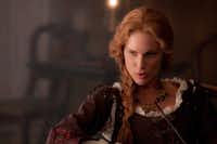 "Movie still of Erin Wasson in the 2012 film ""Abraham Lincoln: Vampire Hunter."""