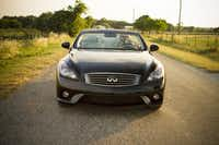 Christopher Wynn in the Infiniti G37 Convertible Sport 6MT