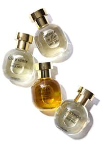 Arquiste perfumes, Infanta en Flor, Flor y Canto, Anima Dulcis and L'etrog perfumes, $165 to $175, Barneys New York