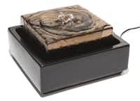 """Fuji"" tabletop fountain, $30, Z Gallerie"